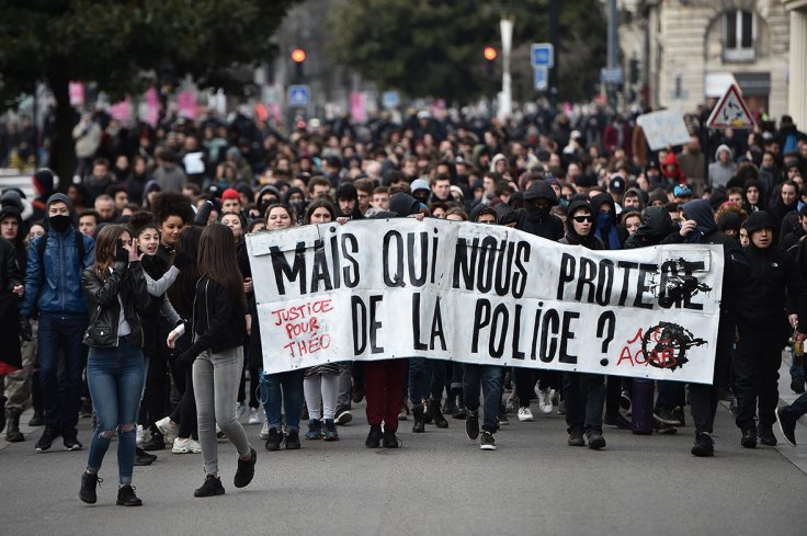 Protests in France