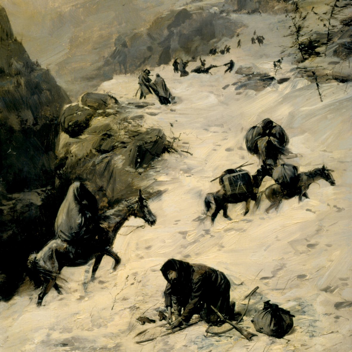 Donner Party cannibalism wasn't a myth – it's evidence that starving