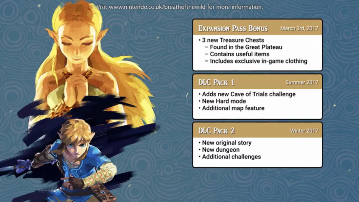 Legend of Zelda Breath Wild DLC