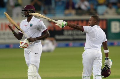 Darren Bravo and Jason Holder