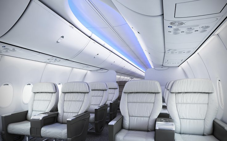 Boeing 737 MAX cabin