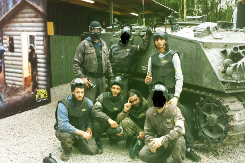 Jihadis at paintball