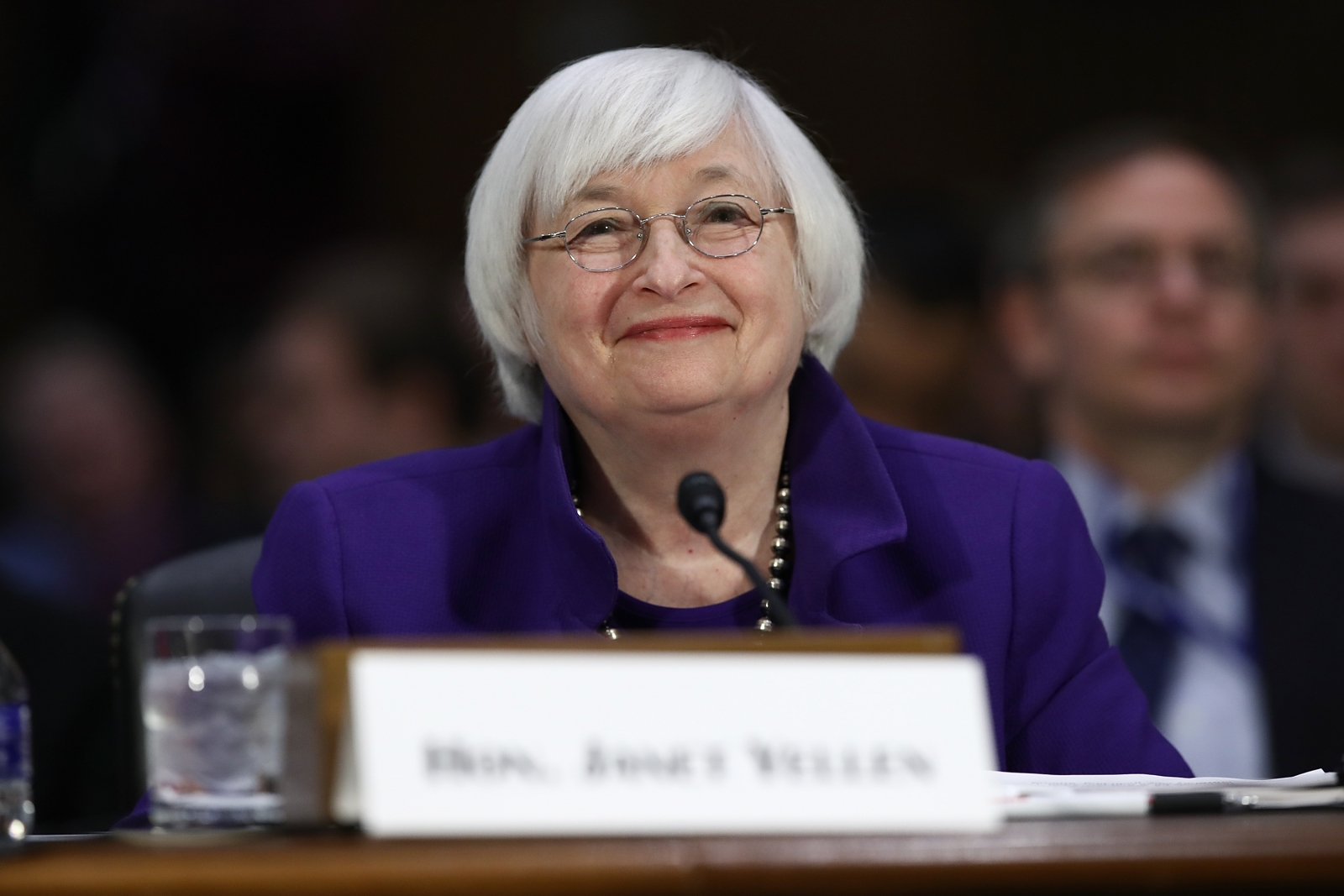 Janet Yellen testifies to senate committee