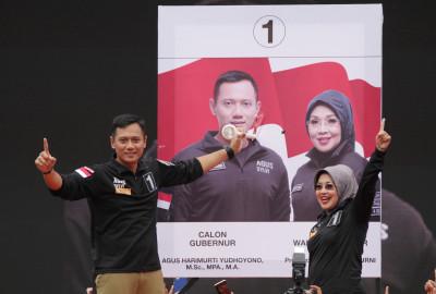 Jakarta governor candidate Agus Harimurti Yudhoyono