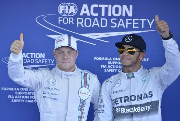 Rosberg warns Bottas about Hamilton rivalry