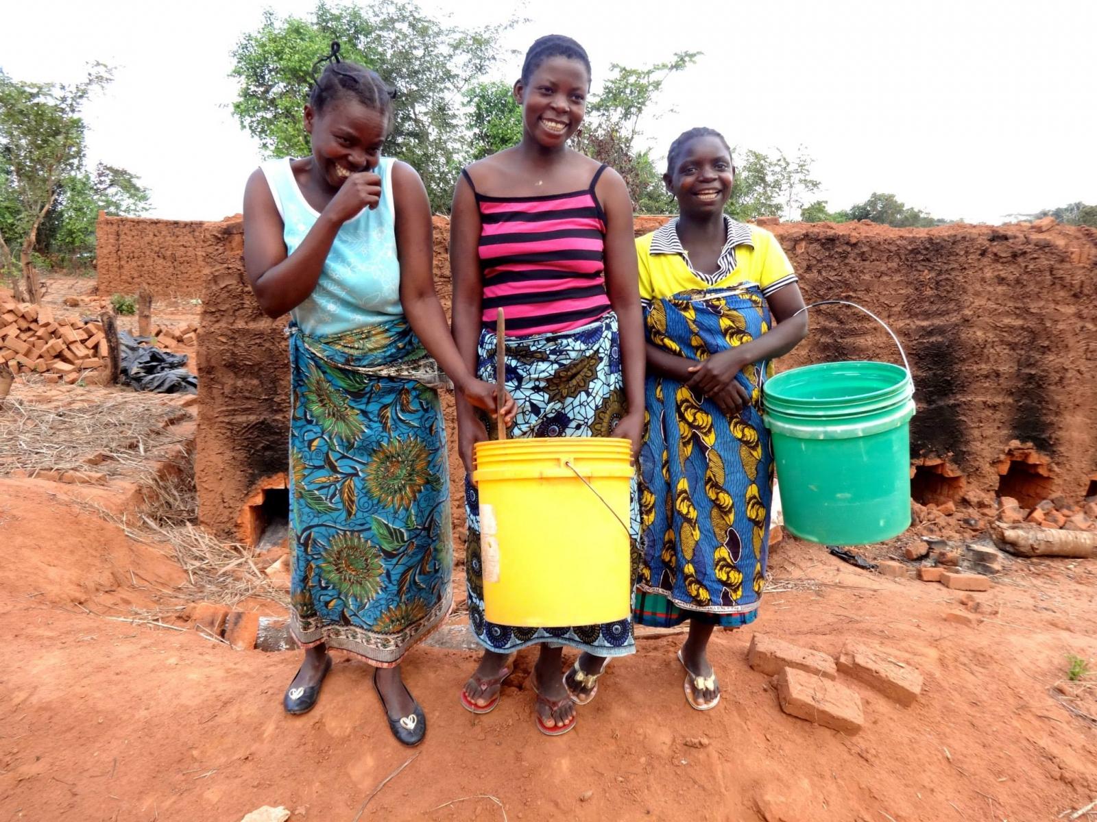Girls in Malawi