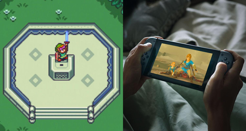 Legend of Zelda 2D Switch