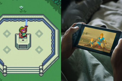 Legend of Zelda 2D Switch