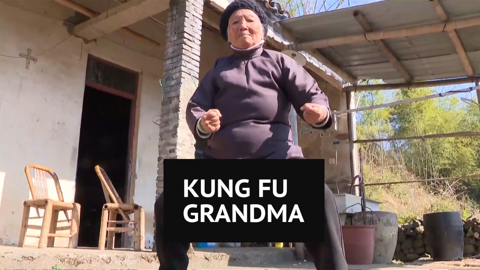 Meet Zhang Hexian, the 94-year-old Kung Fu Grandma