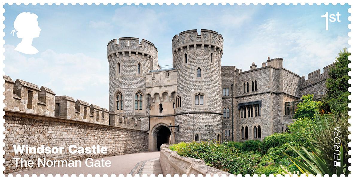 Royal Mail Windsor Castle stamps