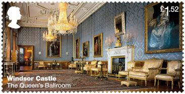 Royal Mail Windsor Castle stamps