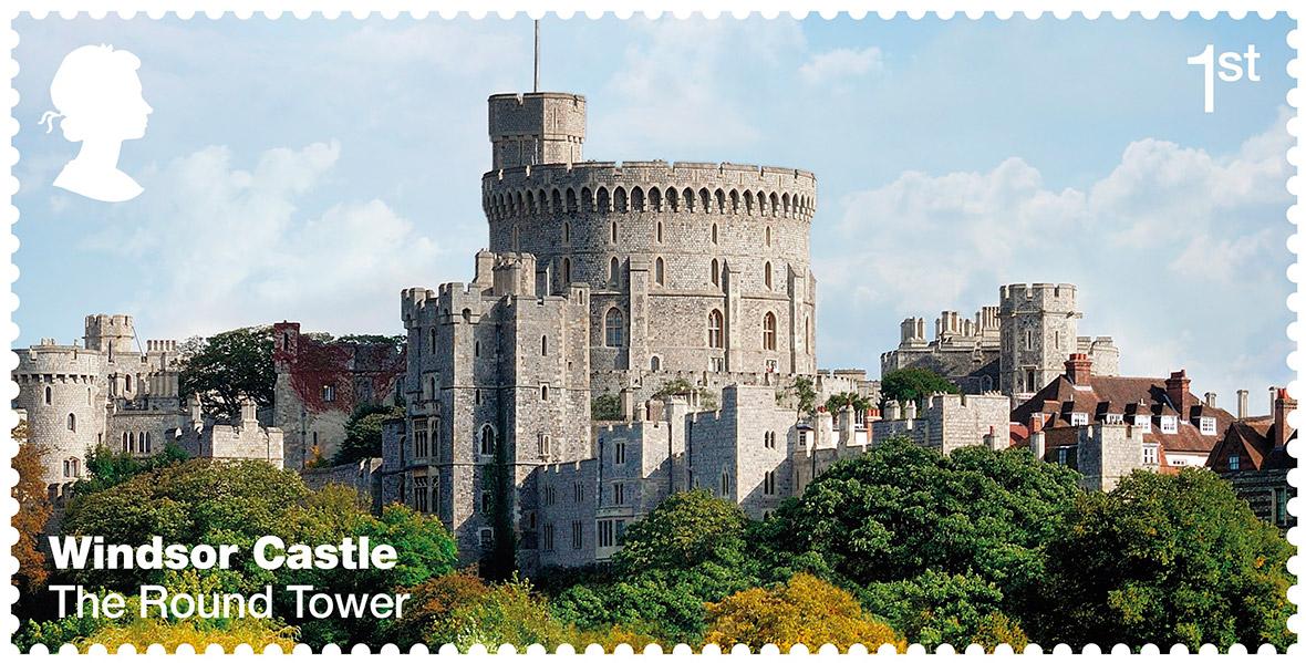 Royal Mail: Windsor Castle stamps