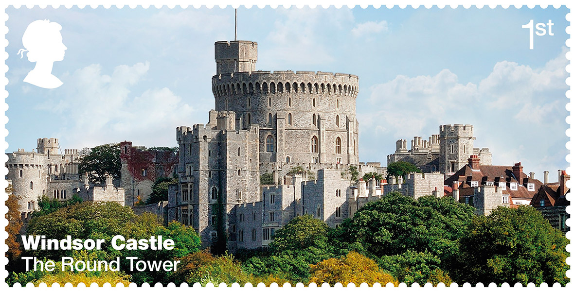 Royal Mail: Windsor Castle stamps