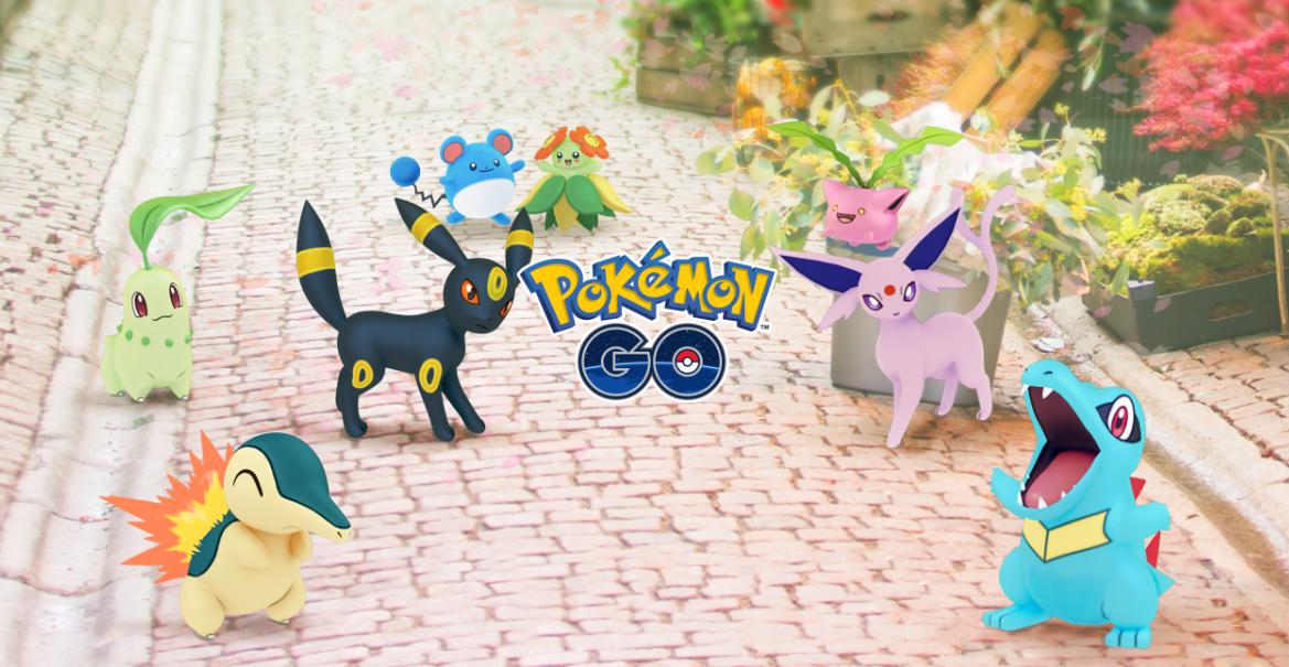 Pokemon Go Gen 2