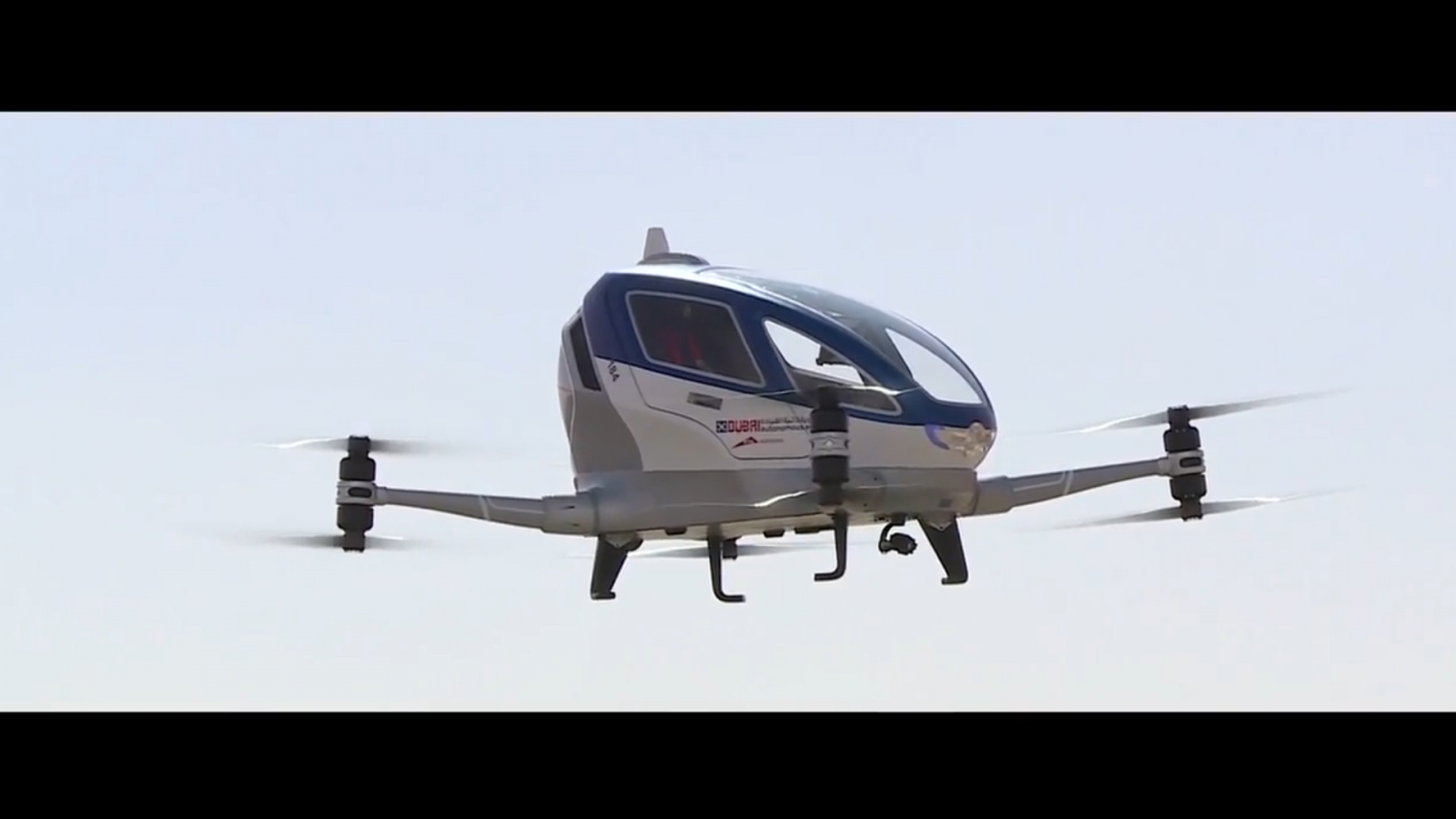 Dubai plans to launch passenger-carrying drone taxi service this ...