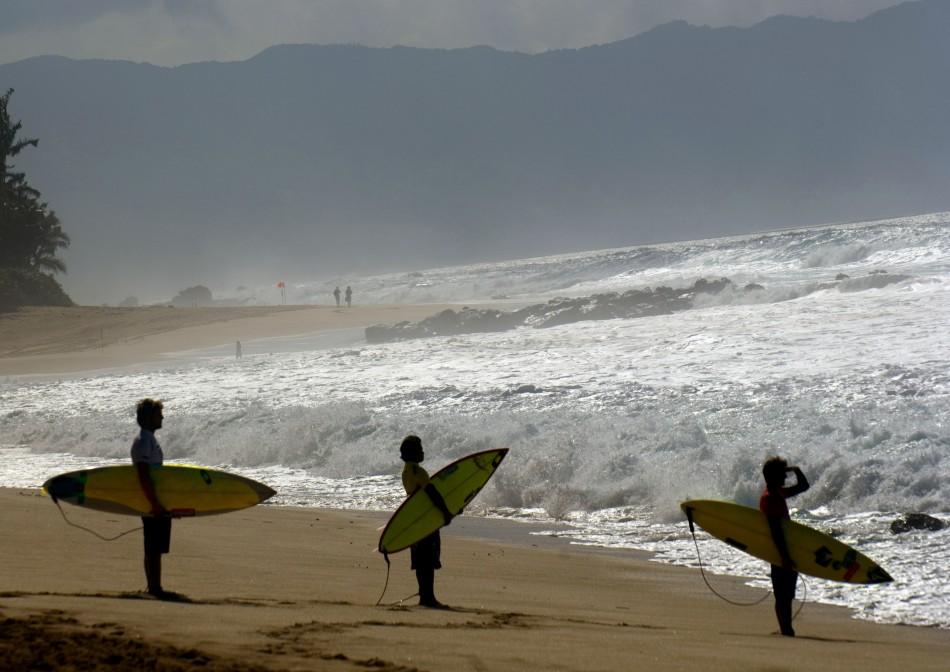 Surfing in Hawaii