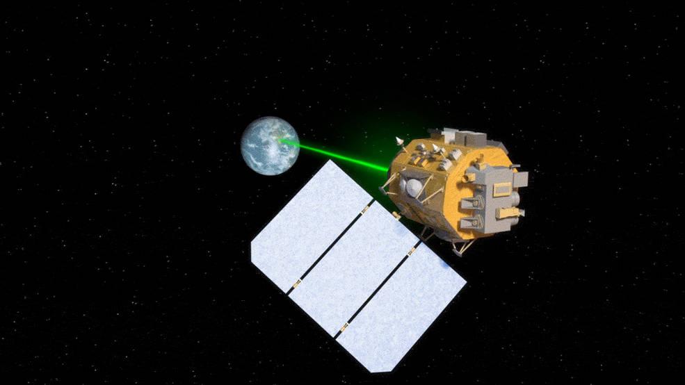 Nasa laser internet
