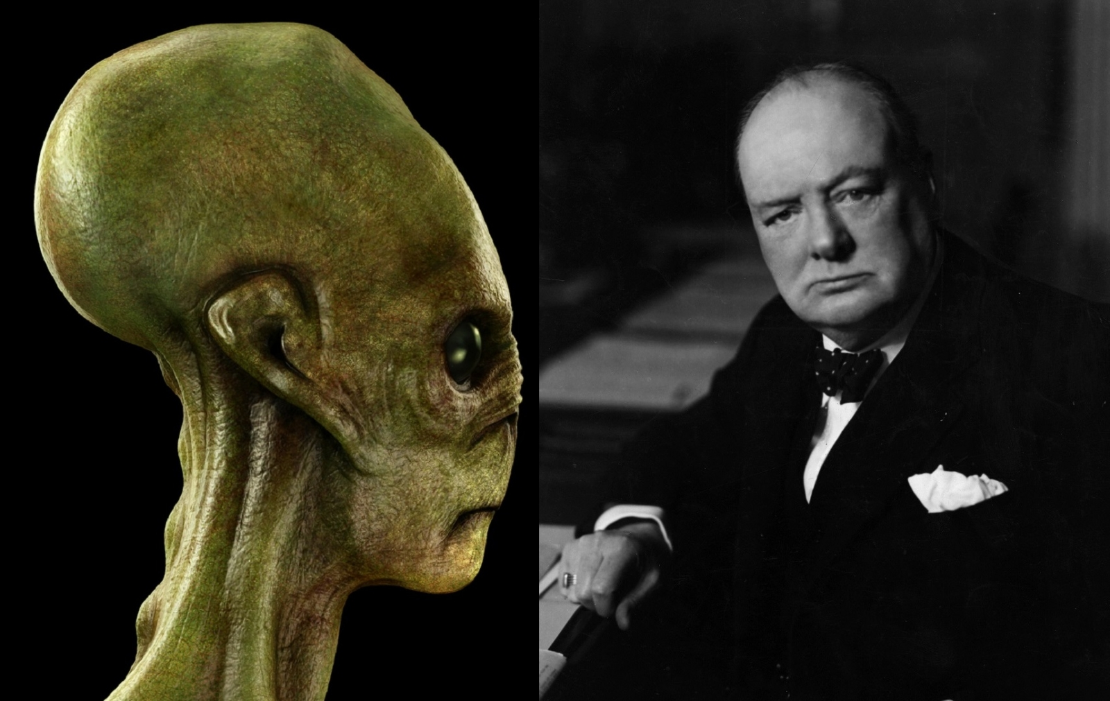 alien winston churchill