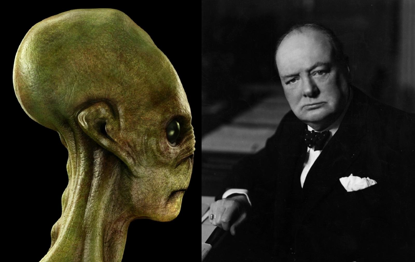 alien winston churchill