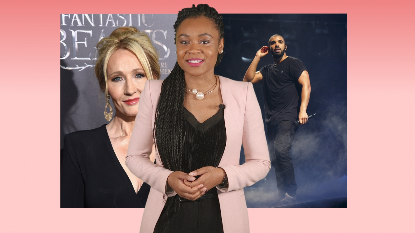 A-list insider: JK Rowling vs. Piers Morgan, Drake is have-a-go hero and Alanis Morissette robbed