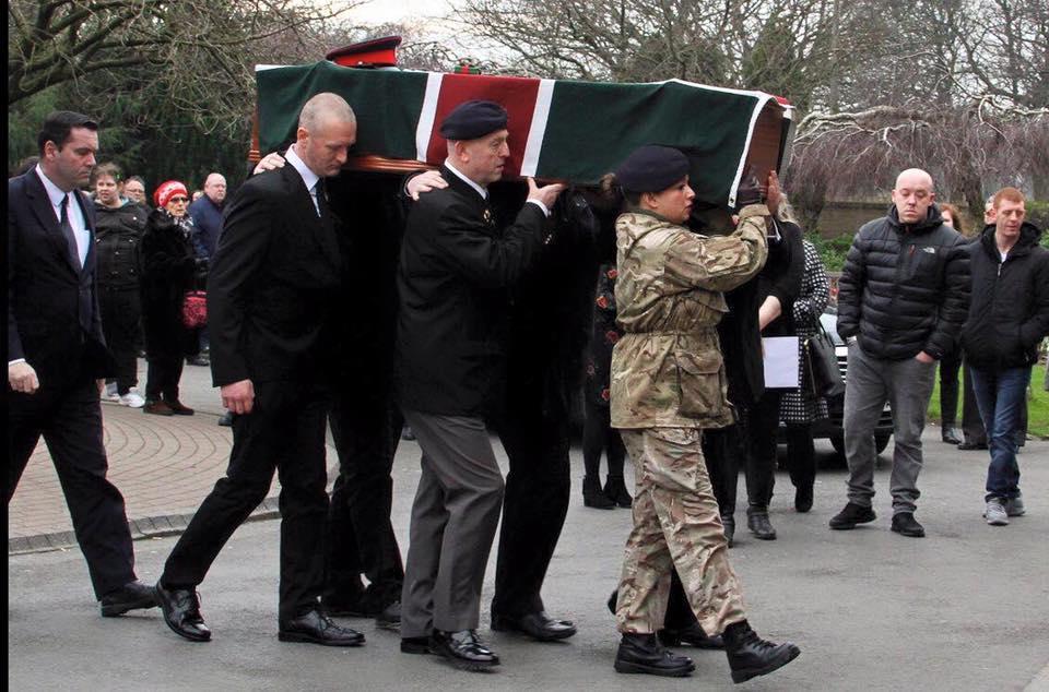 Steve McGrath funeral