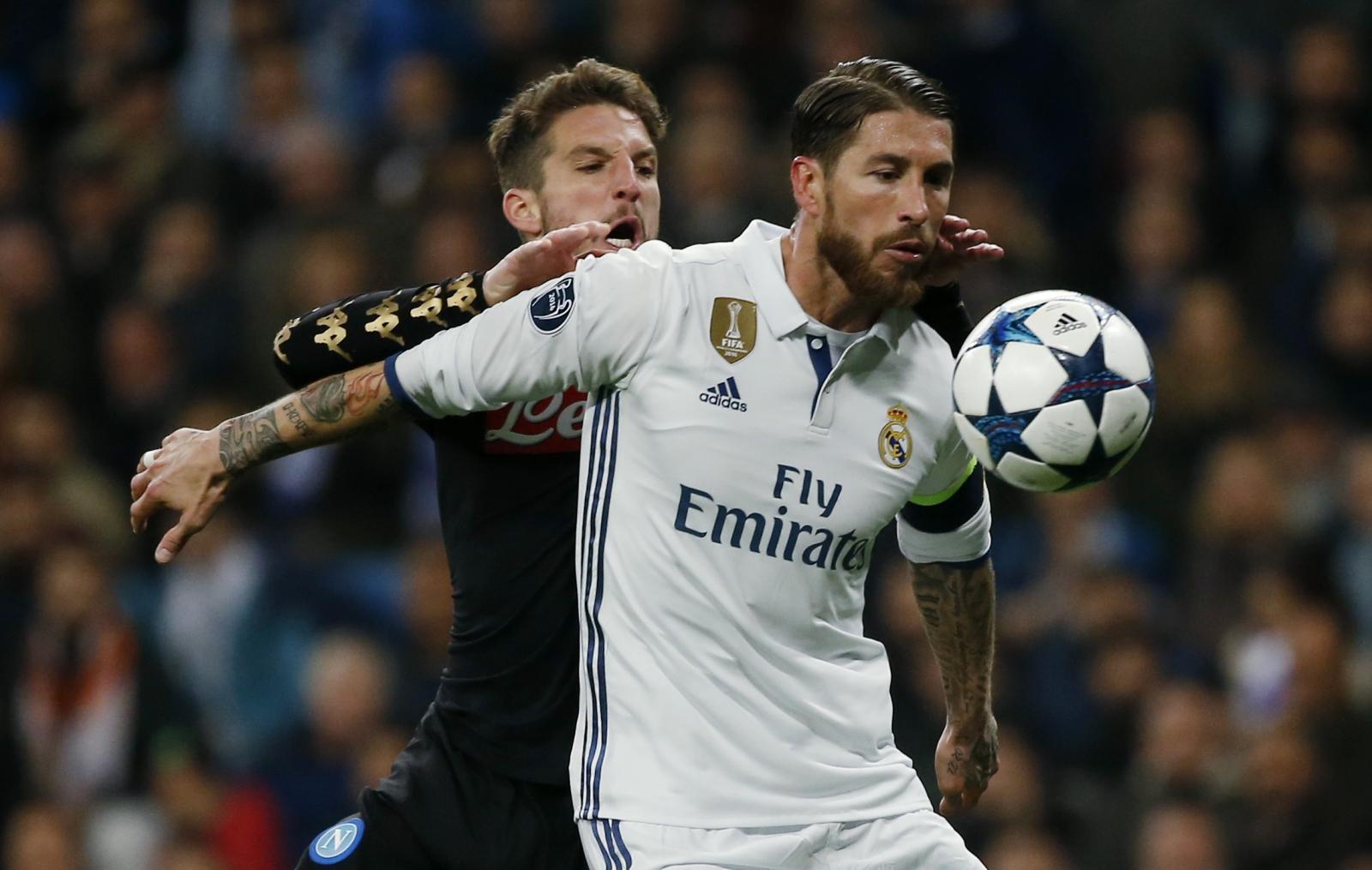 Dries Mertes & Sergio Ramos