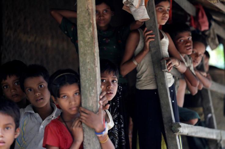 Rohingya Muslim children