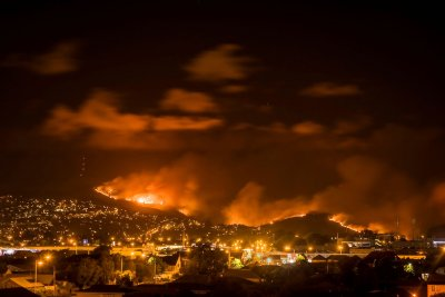 Christchurch wildfires