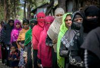 Rohingya refugees Bangladesh Malaysia aid ship