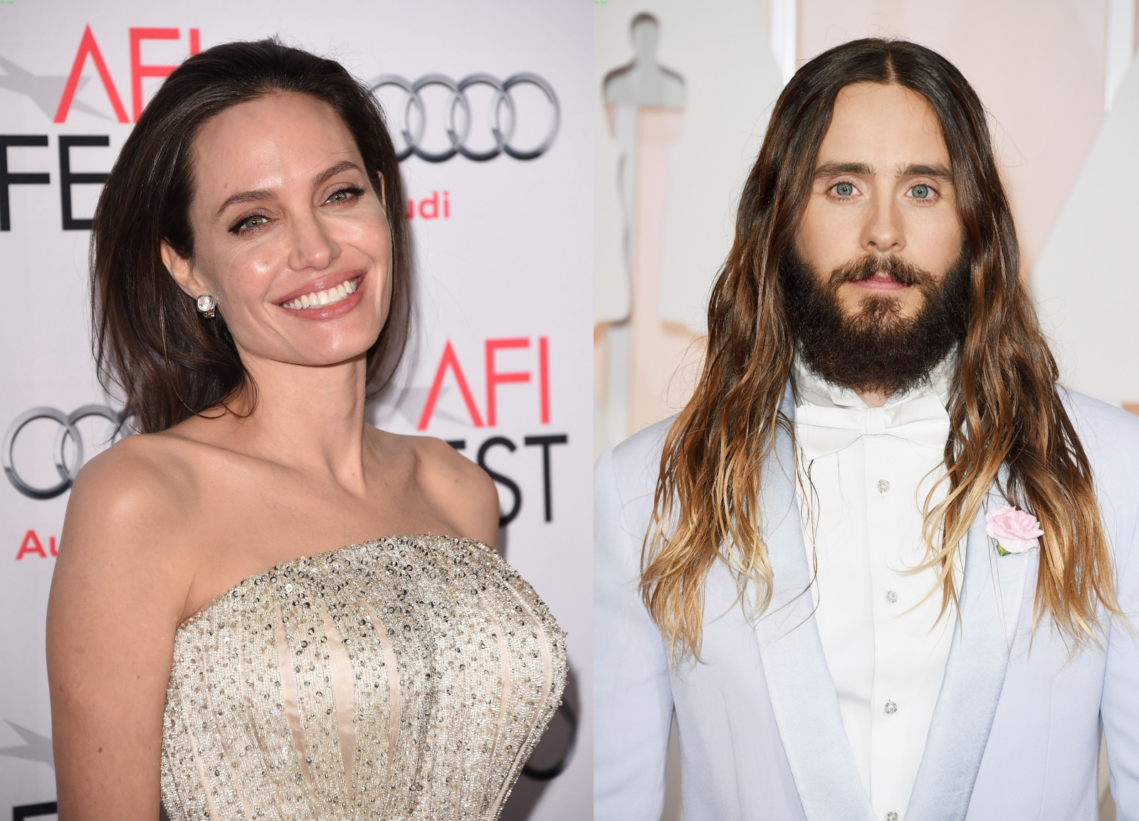 Angelina Jolie and Jared Leto
