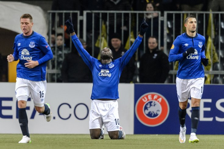 Romelu Lukaku, Kevin Mirallas and James McCarthy,