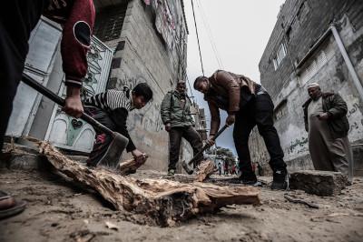 Gaza floods