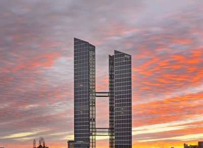 Highlight Towers Munich Germany IBM