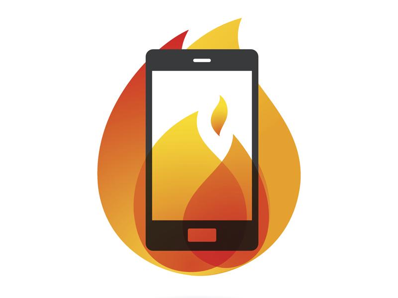 Smartphone overheating