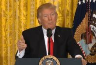 """Donald Trump to the media:""""The public doesn't believe you people anymore"""""""