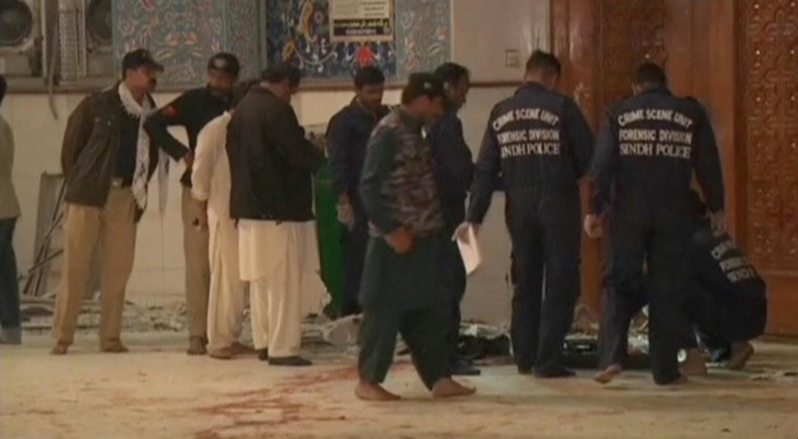 Pakistan Sindh province bombing
