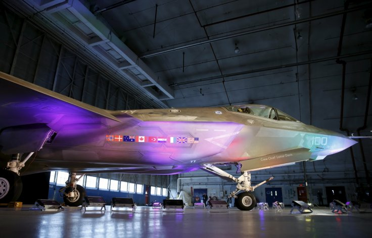 Lockheed Martin F-35 fighter jet