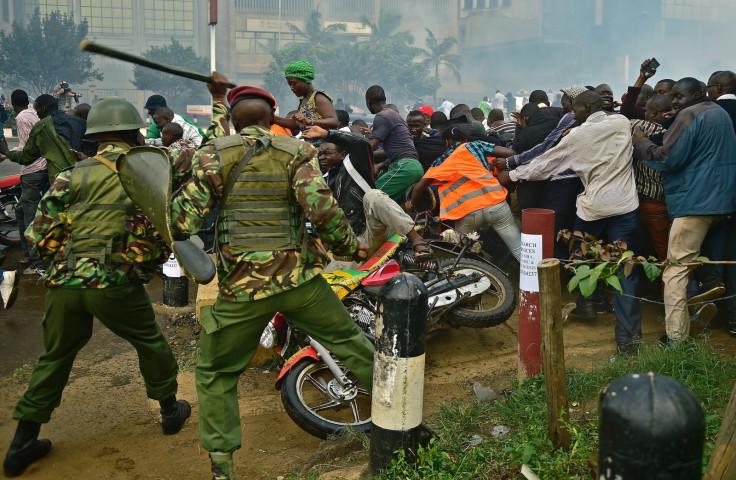 Protests in Nairobi