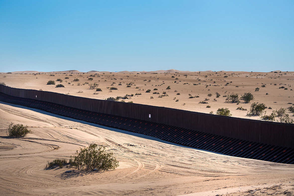 borderproject2017 US Mexico border fence