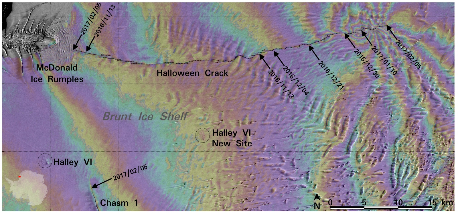 ice shelf deformation