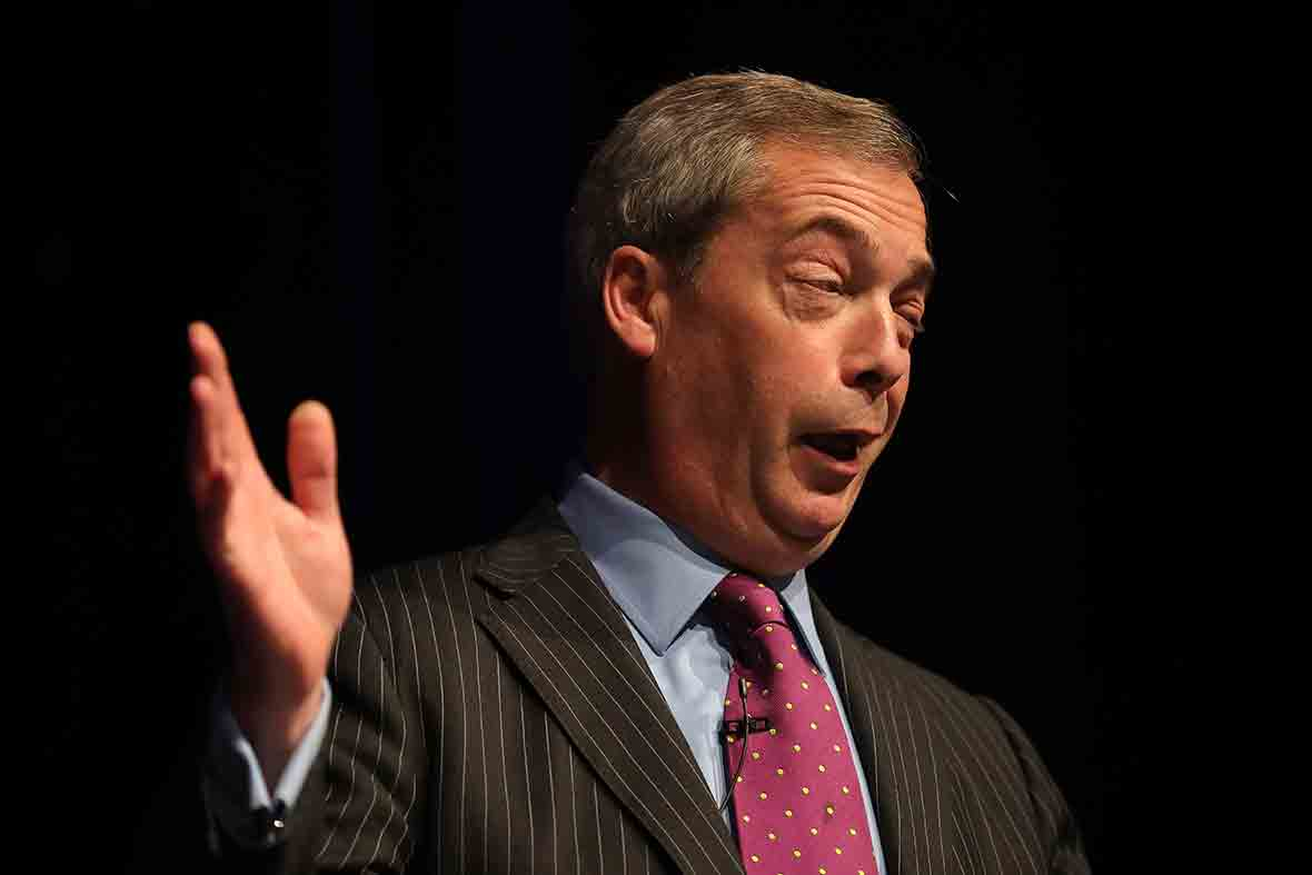 Nigel Farage: Ukip's only MP Douglas Carswell is a ...