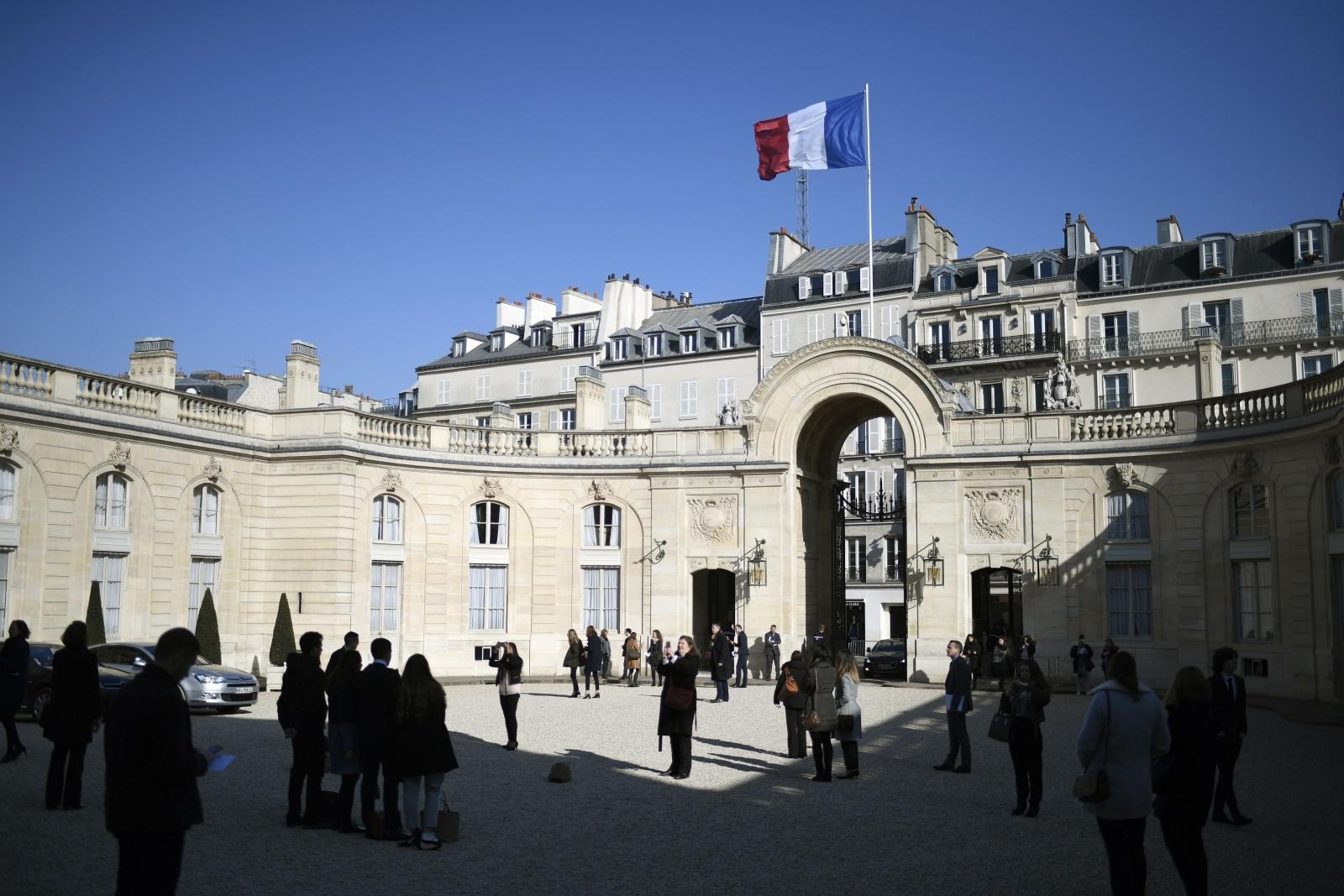Elysee Presidential Palace