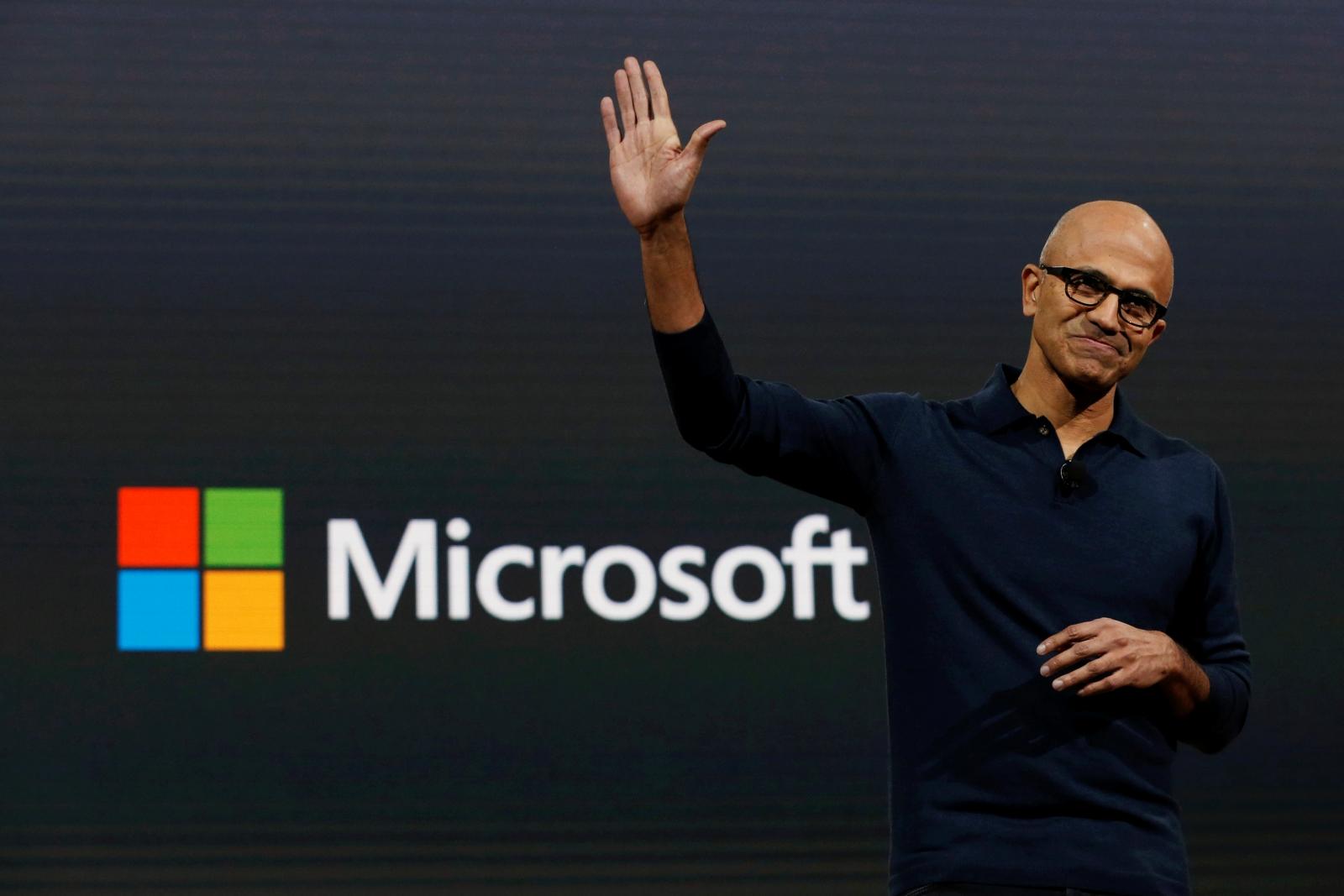 Microsoft CEO Satya Narayana Nadella