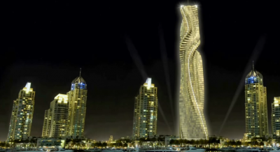 Worlds first rotating skyscraper Dynamic Tower Dubai