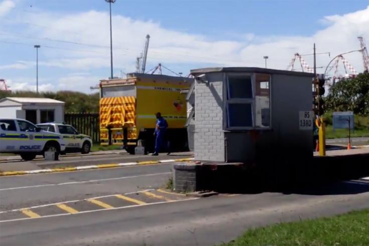 Durban naval base