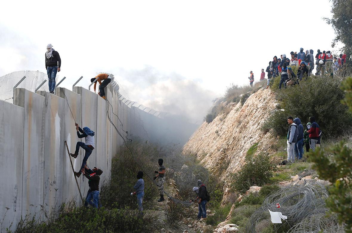 Israel Palestine barrier