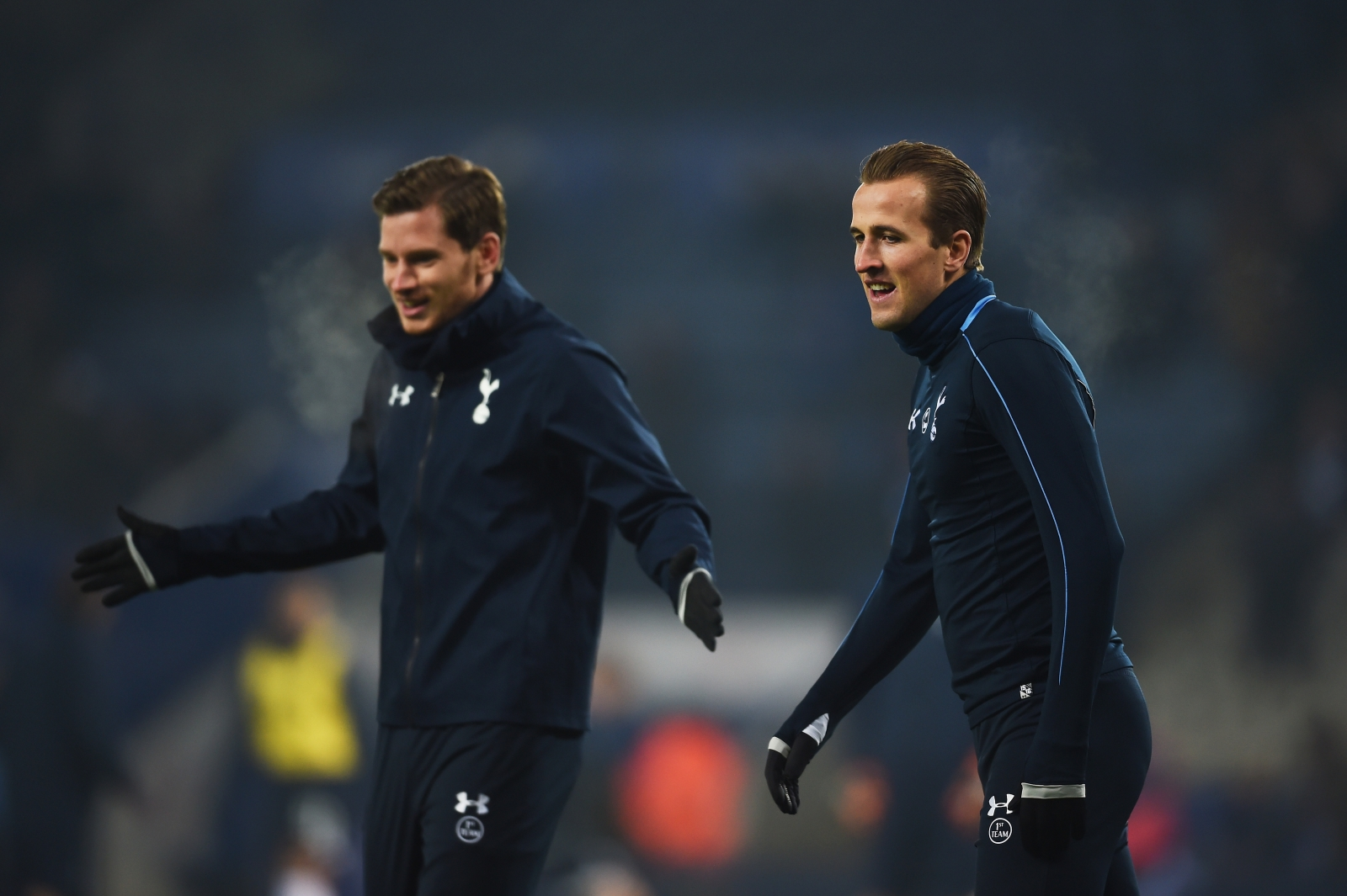 Jan Vertonghen and Harry Kane