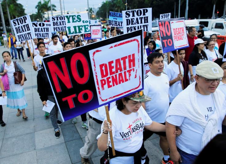 Philippine war on drugs protest