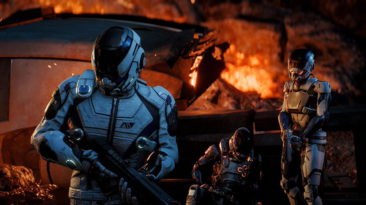 Andromeda Gameplay Series #1 shows us the intricacies of combat