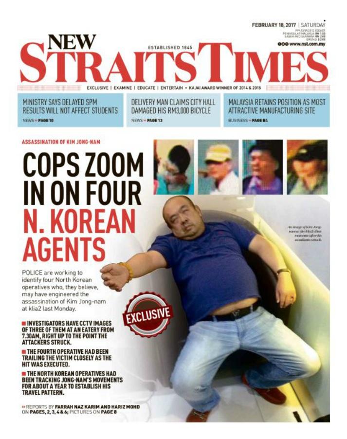 Kim Jong-nam assassination